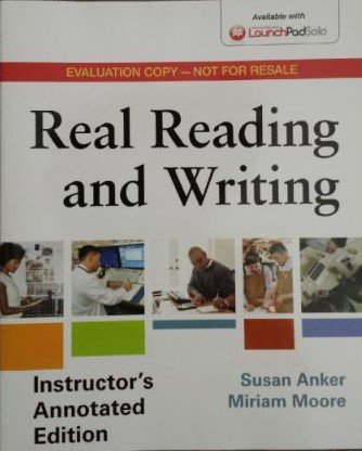 9781457688676: Real Reading and Writing (Annotated Instructor Edition)