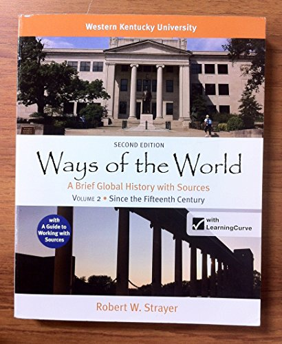 ways of the world ch 6 Ways of the world: a global history with sources by robert w strayer is the2nd edition and was made in mind forap students these numbers are not obtrusive and are always in the corner, to the side.