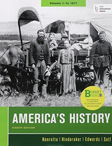 9781457693410: Loose-leaf Version of America's History 8e V1 & LaunchPad for America's History 8e V1 (Access Card)