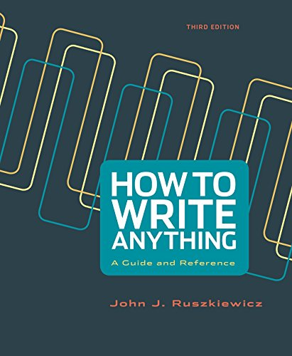 9781457693687: How to Write Anything: A Guide and Reference