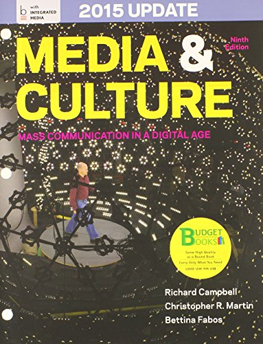 Loose-Leaf Version of Media and Culture with 2015 Update 9e & Launchpad for Media and Culture ...