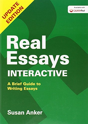 real essays susan anker Browse and read real essays with readings 4th edition by susan anker real essays with readings 4th edition by susan anker one day, you will discover a new adventure and knowledge by spending.