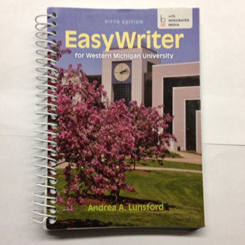 9781457696831: Easy Writer for Western Michigan University (with INTEGRATED MEDIA)