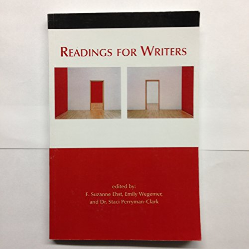 Readings For Writers: E. Suzanne Ehst
