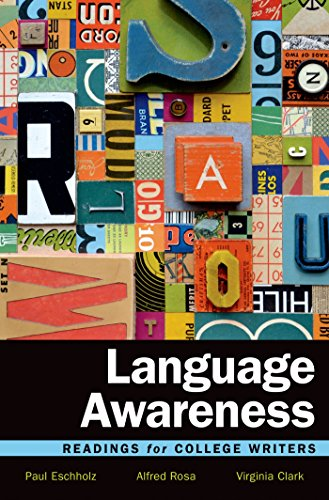 9781457697975: Language Awareness: Readings for College Writers