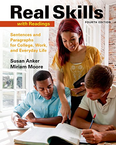 9781457698187: Real Skills with Readings: Sentences and Paragraphs for College, Work, and Everyday Life