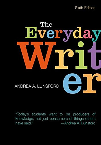 Everyday Writer (Paperback): Andrea A. Lunsford