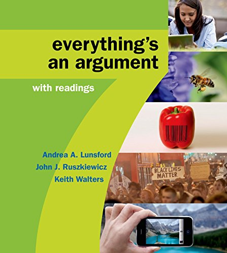9781457698644: Everything's an Argument With Readings