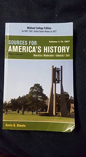 Sources for America's History Vol. 1. Midland
