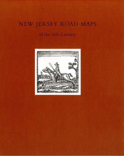 9781457850226: New Jersey Road Maps of the 18th Century