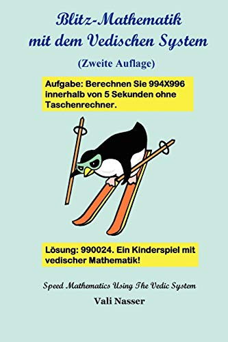 9781458332448: Blitz-Mathematik Mit Dem Vedischen System (German Edition)