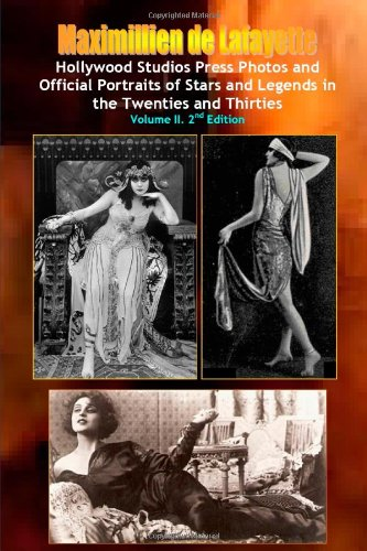 9781458347138: Hollywood Photos & Official Portraits of Stars & Legends in the Twenties & Thirties. Vol.2