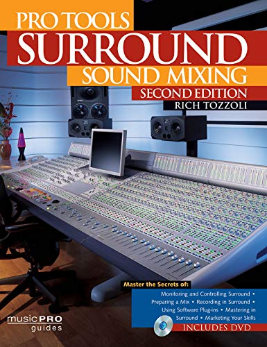 9781458400390: Pro Tools Surround Sound Mixing: Music Pro Guides