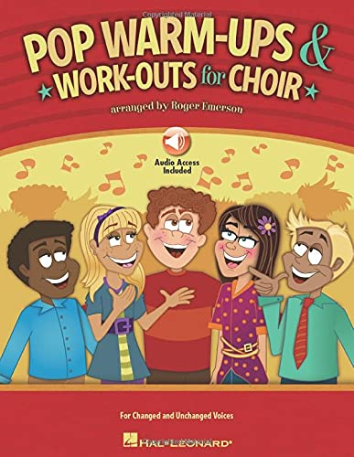 9781458400826: Roger Emerson: Pop Warm-ups & Work-outs For Choir