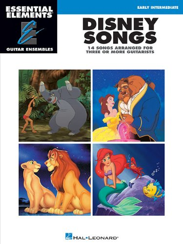 9781458400871: Disney Songs: Essential Elements Guitar Ensembles Early Intermediate Level