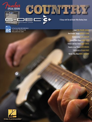 9781458400901: Country Guitar: Fender Special Edition G-DEC 3, with SD Card