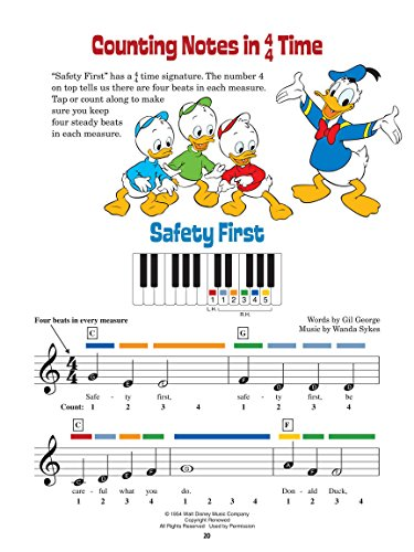 9781458402585: Disney Music Activity Book: An Introduction to Music