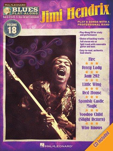 Jimi Hendrix: Blues Play-Along Volume 18 (Book/CD) (Hal Leonard Blues Play-Along): Jimi ...