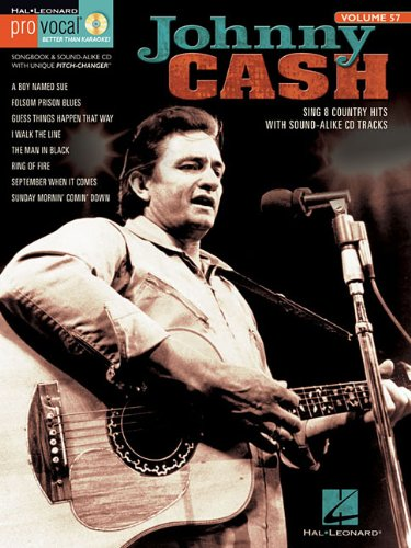 Johnny Cash: Pro Vocal Men's Edition Volume 57 (9781458403544) by Johnny Cash