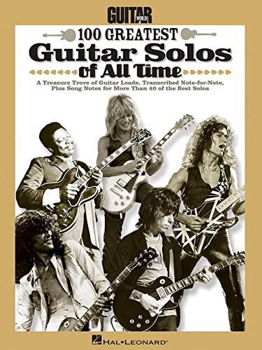 9781458404930: Guitar World 100 Greatest Guitar Solos of All Time