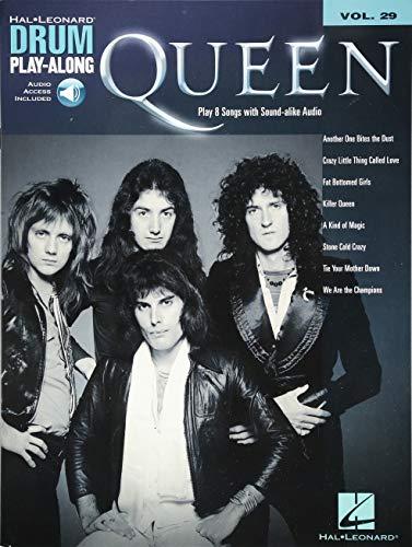 9781458404978: Queen - Drum Play-along Volume 29 (book/cd)