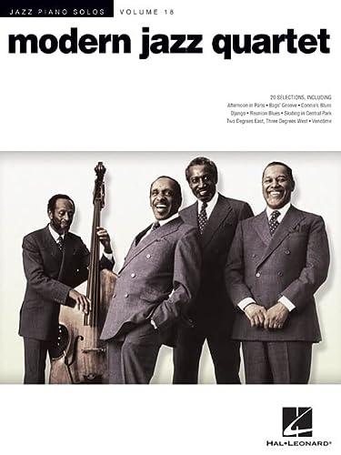 9781458405227: Modern Jazz Quartet - Jazz Piano Solos Series Volume 18 (Jazz Piano Solos (Numbered))