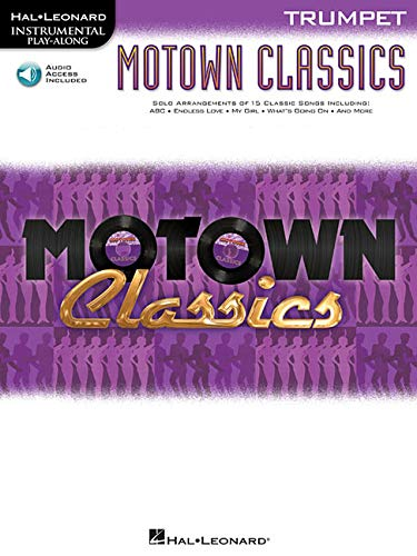 9781458405609: Motown Classics For Trumpet - Instrumental Play-Along Cd/Pkg