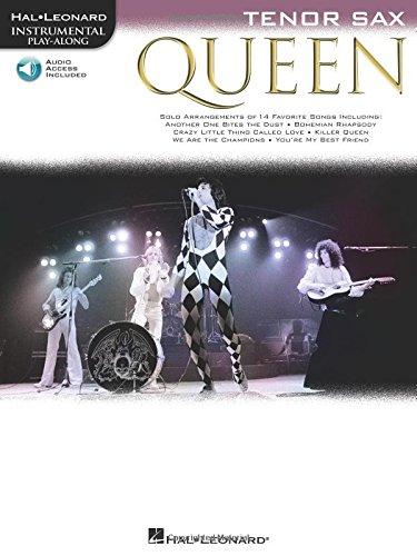 9781458405692: Queen - Tenor Saxophone (Book/Audio) (Instrumental Play-along)