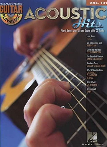 9781458405890: Acoustic Hits - Guitar Play-Along Volume 141 (Book/Cd)