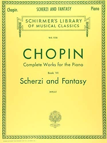 Scherzi; Fantasy in F Minor: Schirmer Library