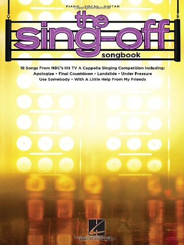 9781458406521: The Sing-Off Songbook: 18 Songs from NBC's Hit TV A Cappella Singing Competition