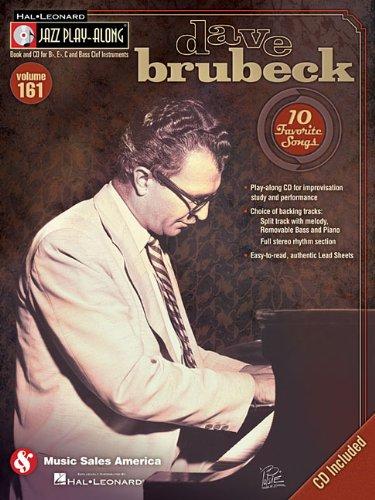 9781458407559: Dave Brubeck: Jazz Play-Along Volume 161 (Book/CD)