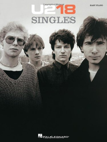 9781458407771: U2-18 Singles Easy Piano Folio