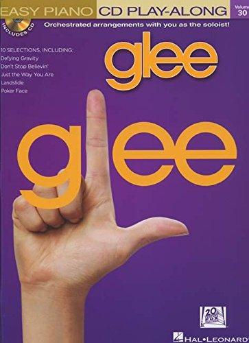 9781458408396: Glee - Easy Piano Cd Play-Along Volume 30 (Bk/Cd)