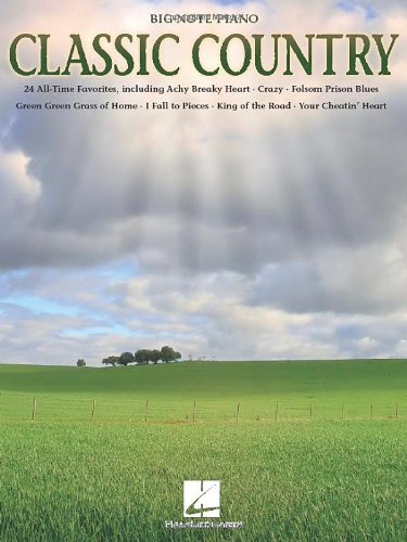 Classic Country - Big-Note Piano (9781458408433) by Hal Leonard Corp.