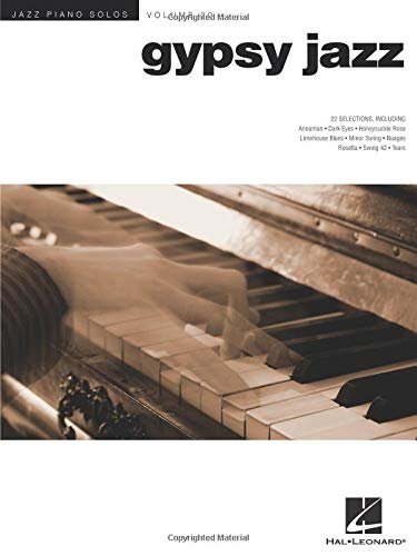 9781458408495: Gypsy Jazz: Jazz Piano Solos Series Volume 20 (Hal Leonard)