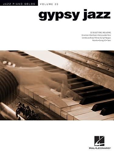 9781458408495: Gypsy Jazz - Jazz Piano Solos Series Volume 20