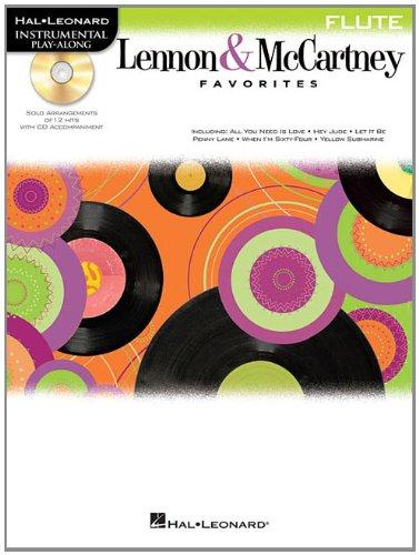 9781458409720: Lennon & Mccartney Favorites for Flute - Instrumental Play-Along (BK/CD)