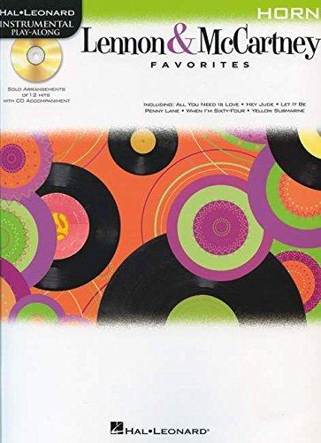 Lennon & McCartney Favorites For Horn - Instrumental Play-Along (Bk/Cd) (1458409783) by Beatles, The; Lennon, John; McCartney, Paul