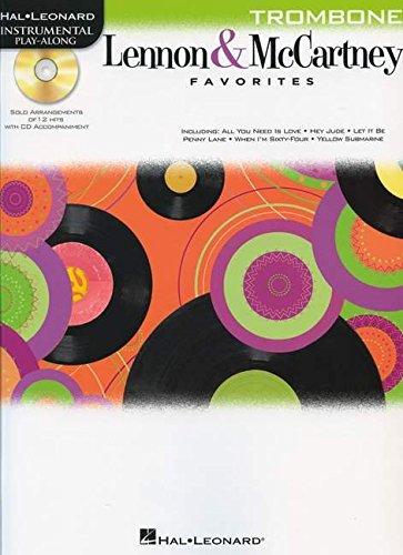 9781458409799: Lennon & McCartney Favorites For Trombone - Instrumental Play-Along (Bk/Cd)