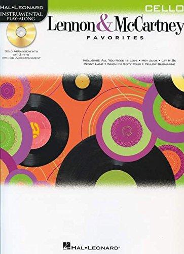 9781458409836: Lennon & Mccartney Favorites For Cello - Instrumental Play-Along (Bk/CD)
