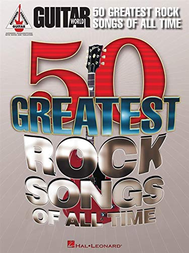 9781458411181: Guitar World: 50 Greatest Rock Songs Of All Time (Guitar Recorded Versions)