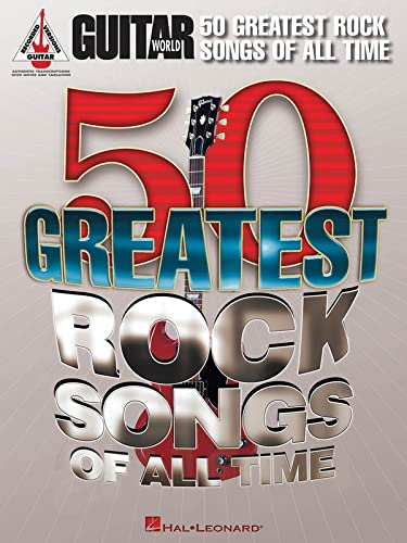 9781458411181: Guitar World: 50 Greatest Rock Songs Of All Time - AbeBooks  - Various: 1458411184