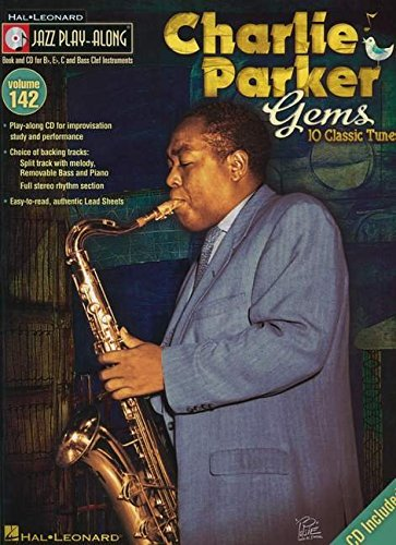 9781458411204: Jazz Play-Along Volume 142: Charlie Parker Gems (Play Along Vol 142 Book & CD)