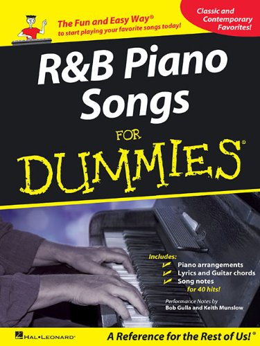 9781458411532: R&B Piano Songs for Dummies