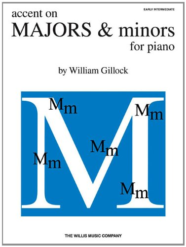 9781458411587: Accent On Majors And Minors For Piano (Accent on Solos)