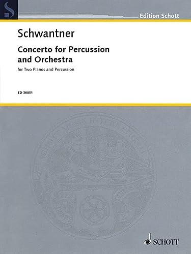 9781458411648: Percussion Concerto No. 1 Forpercussion And 2 Pianos