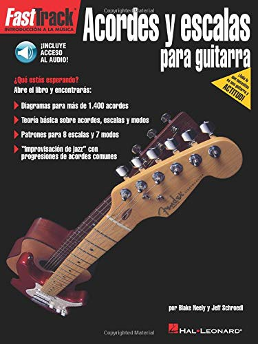 9781458411778: FastTrack Guitar Chords & Scales - Spanish Edition
