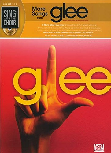 9781458413444: More Songs from Glee: Sing with the Choir Volume 17