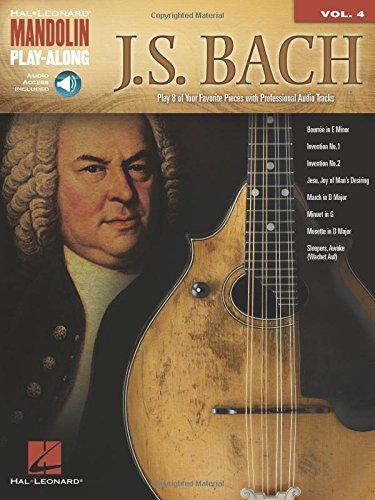 9781458413888: J.S. Bach: Mandolin Play-Along Volume 4 (Book/CD) (Hal Leonard Mandolin Play-Along)